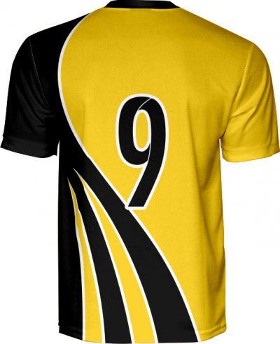 koszulka piłkarska k1009 tyl
