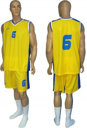 strój koszykarski model kok02sp02