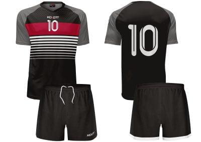 strój piłkarski model k1502 black