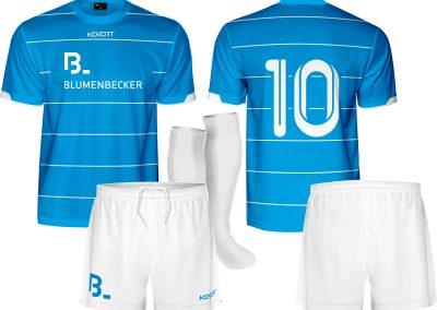 k1152 Blumenbecker v1 Strój piłkarski