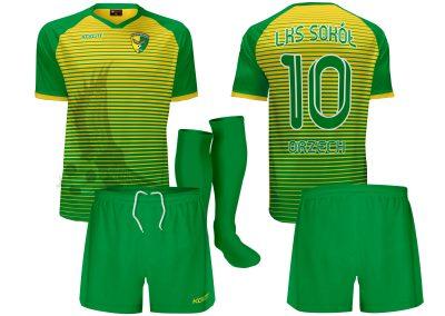 k15 kls sokol orzech v2 stroje piłkarskie koszulki spodenki getry